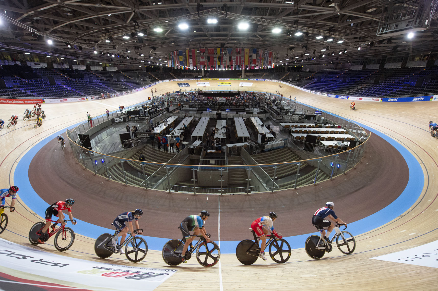 Berlin Velodrome Overview.