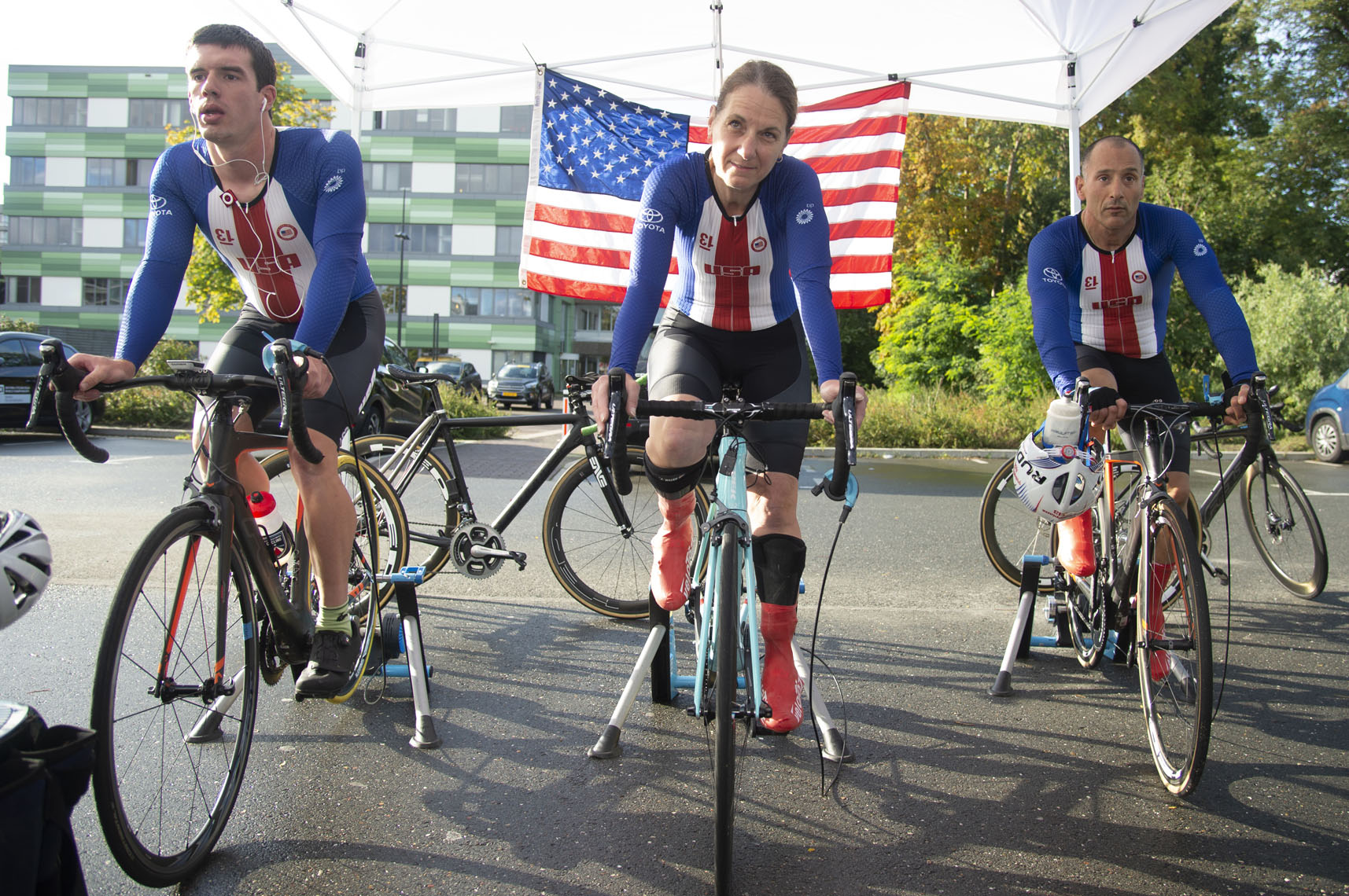 USA Warmup, 2019 Paracycling World Championships