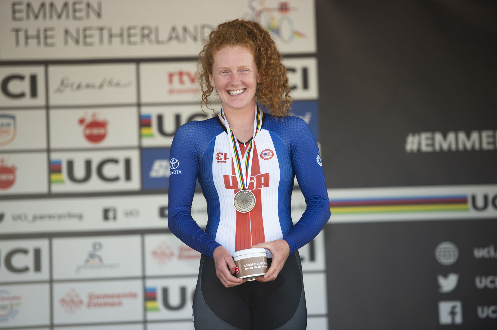 Clara Brown, 2019 Paracycling Road World Championships