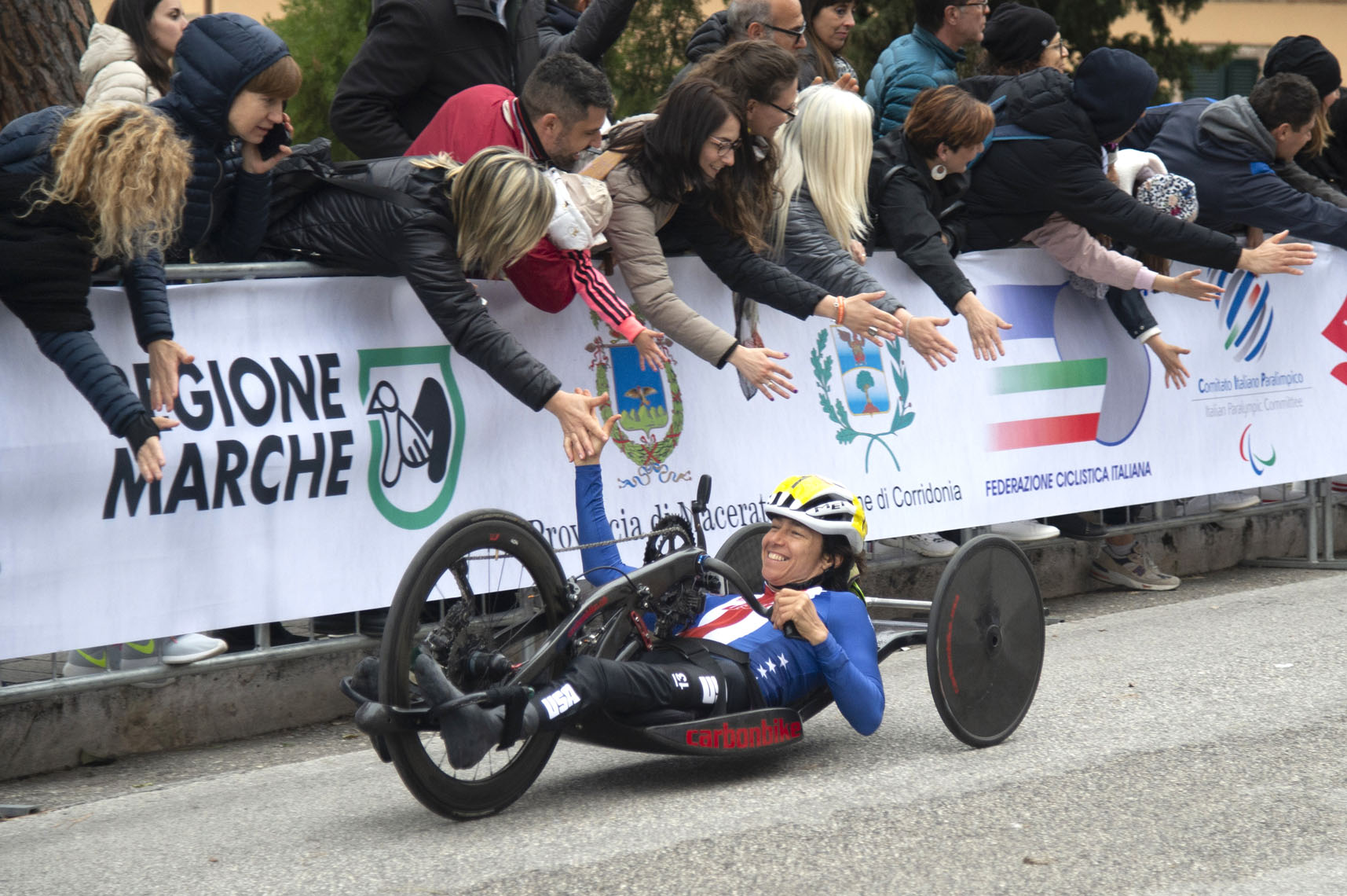 Dana, UCI Paracycling World Cup, Corridonia, Italy