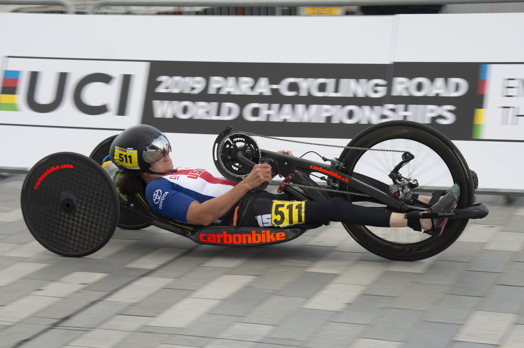 Alicia Dana, 2019 Paracycling Road World Championships