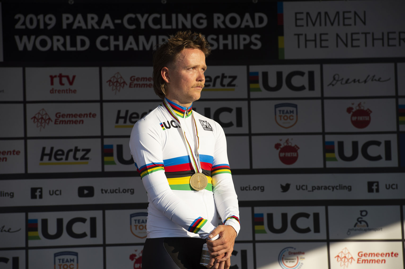 Adam Donohoe, 2019 Paracycling Road World Championships