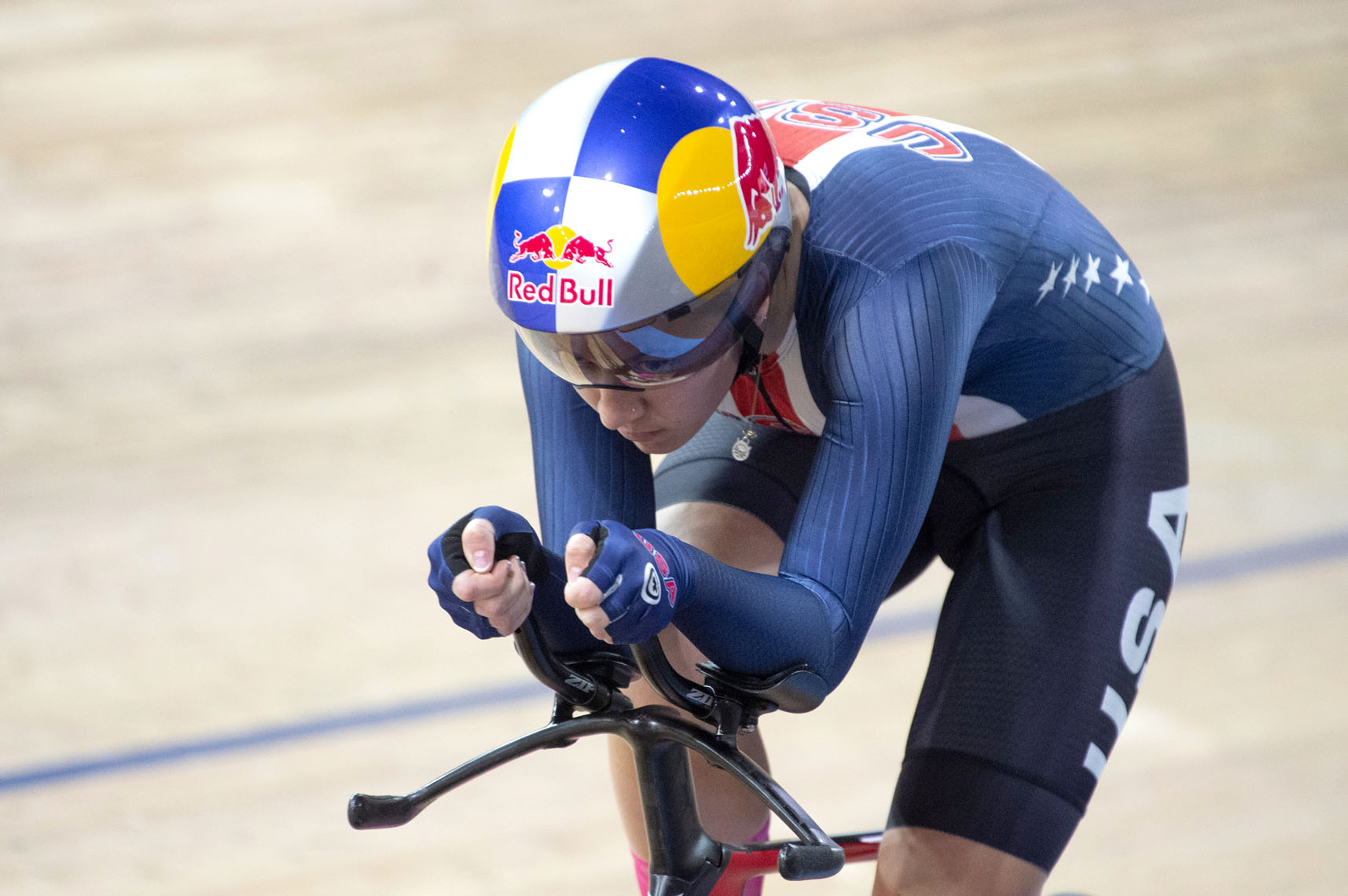 Chloe Dygert, world record ride in individual pursuit.