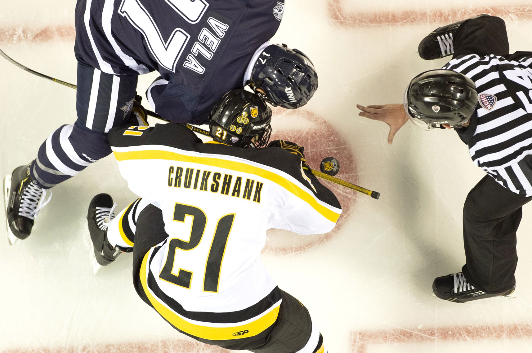 Faceoff, Colorado College Hockey, 2019