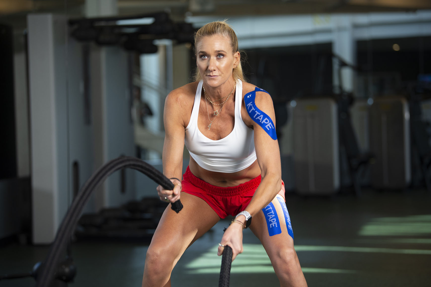 Olympian Kerri Walsh Jennings for KT Tape