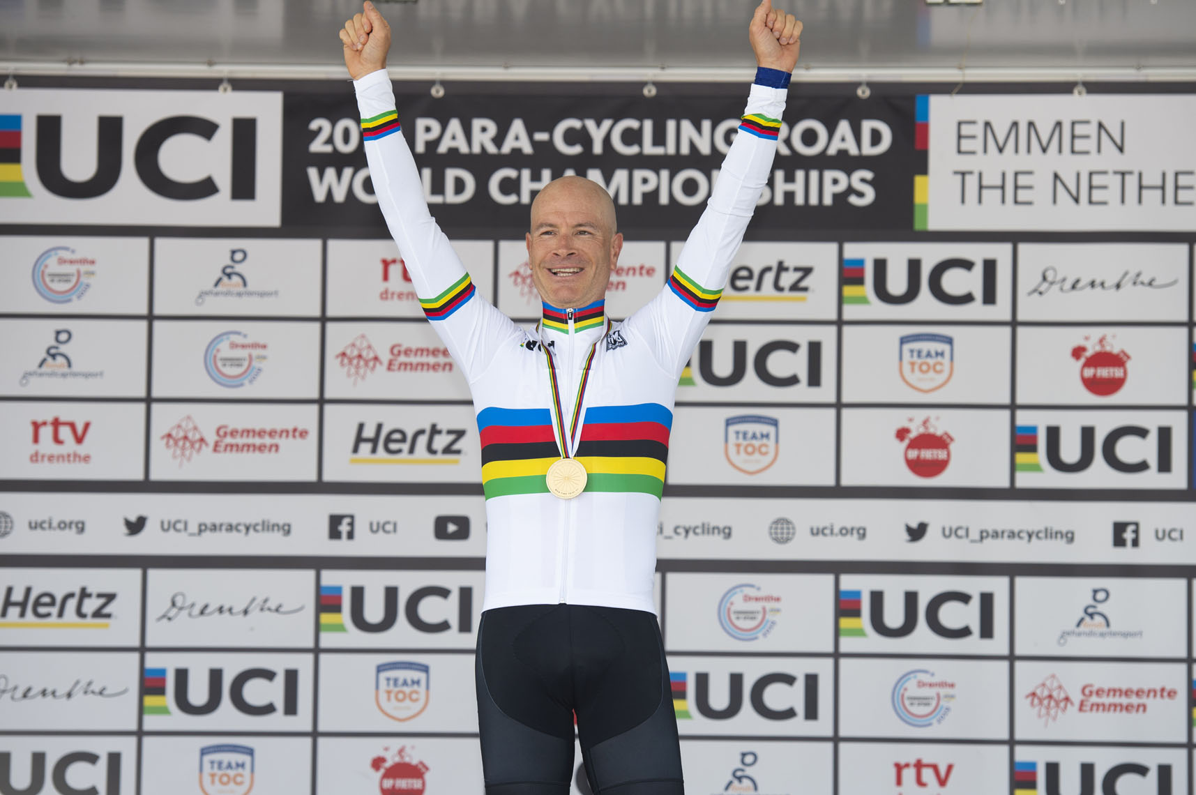 Aaron Keith, 2019 Paracycling Road World Championships
