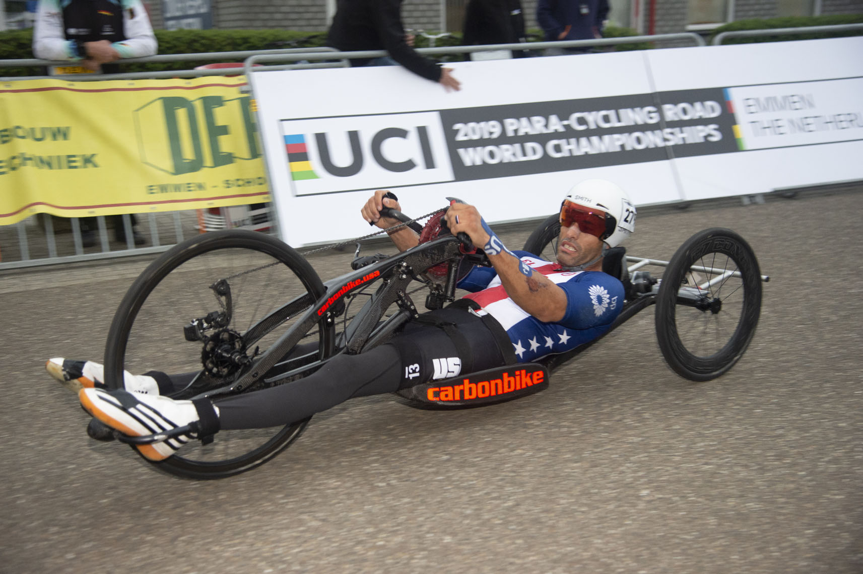 Brandon Lyons, 2019 Paracycling Road World Championships