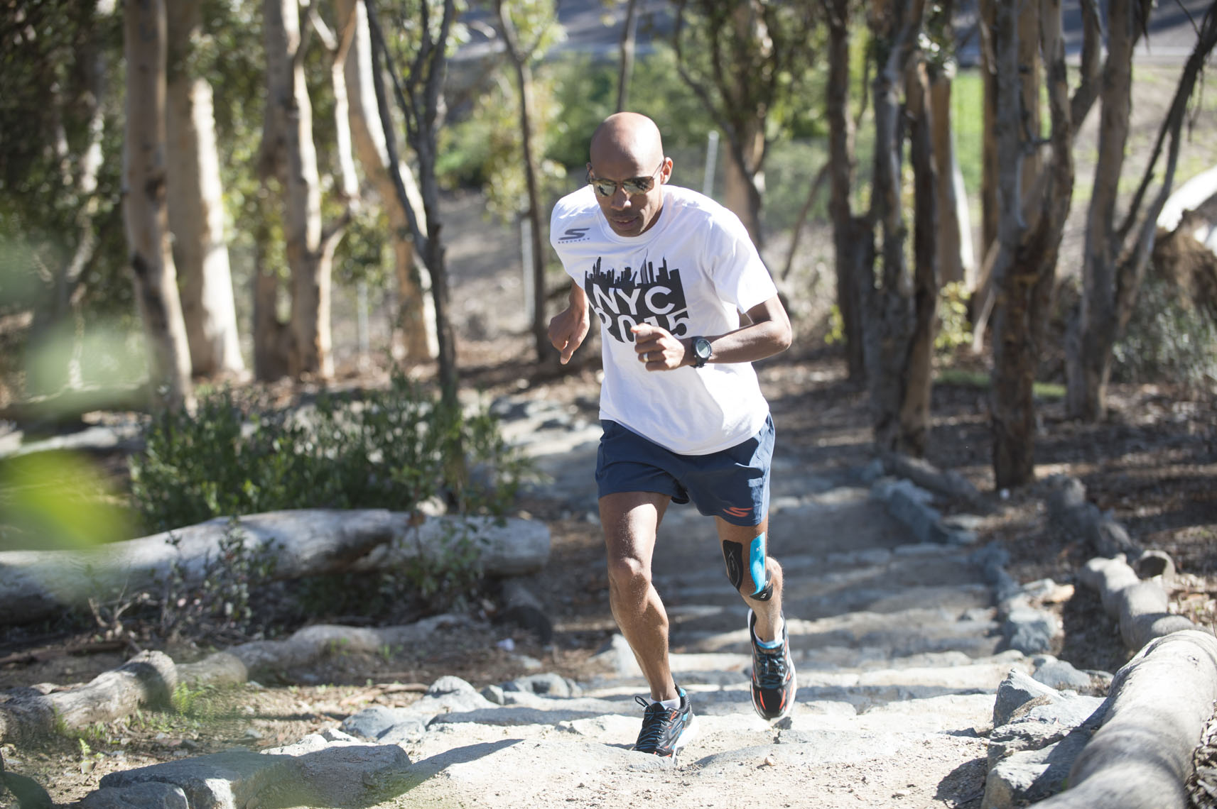 KT Tape, Meb Keflezighi in San Diego, CA