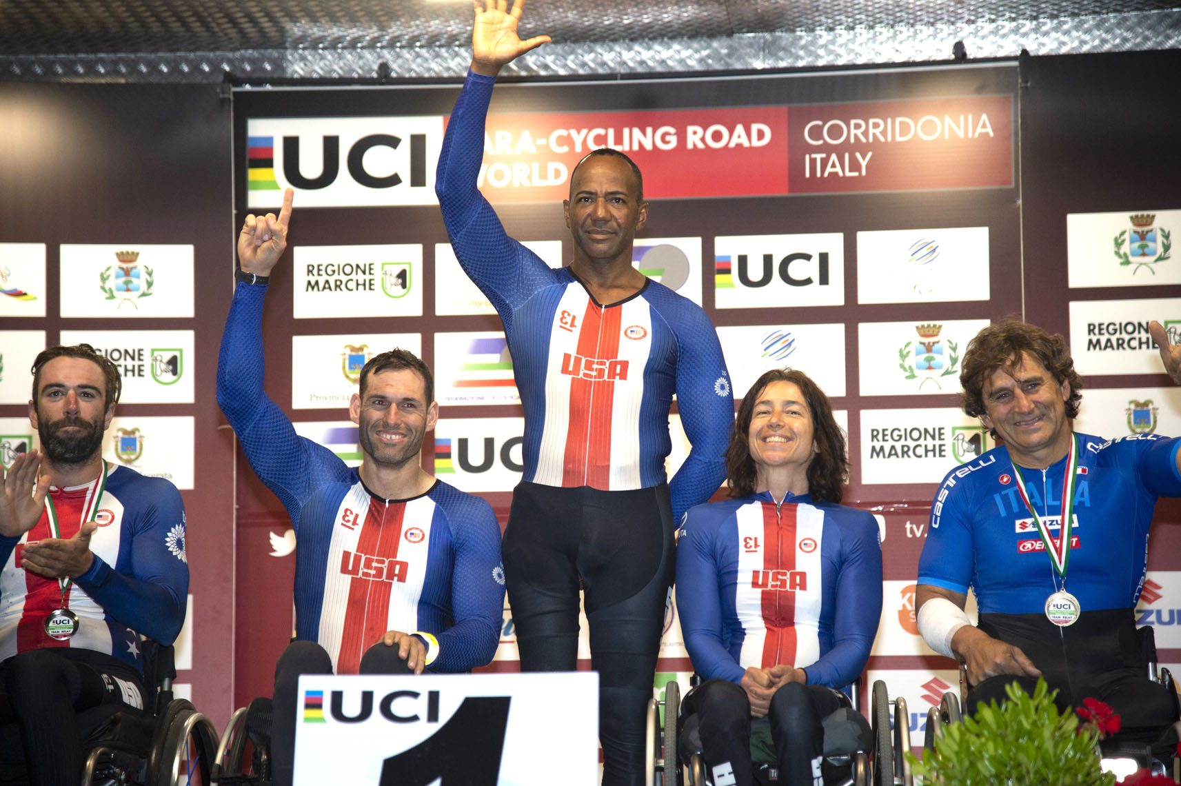 teamrelayUCI Paracycling World Cup, Corridonia, Italy