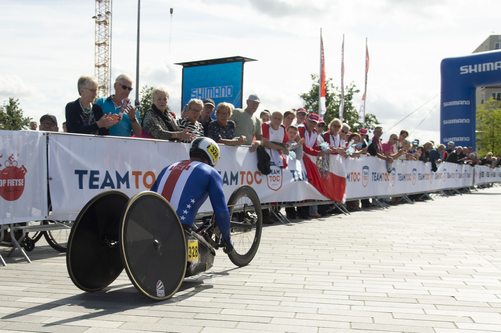Oscar Sanchez, 2019 Paracycling Road World Championships