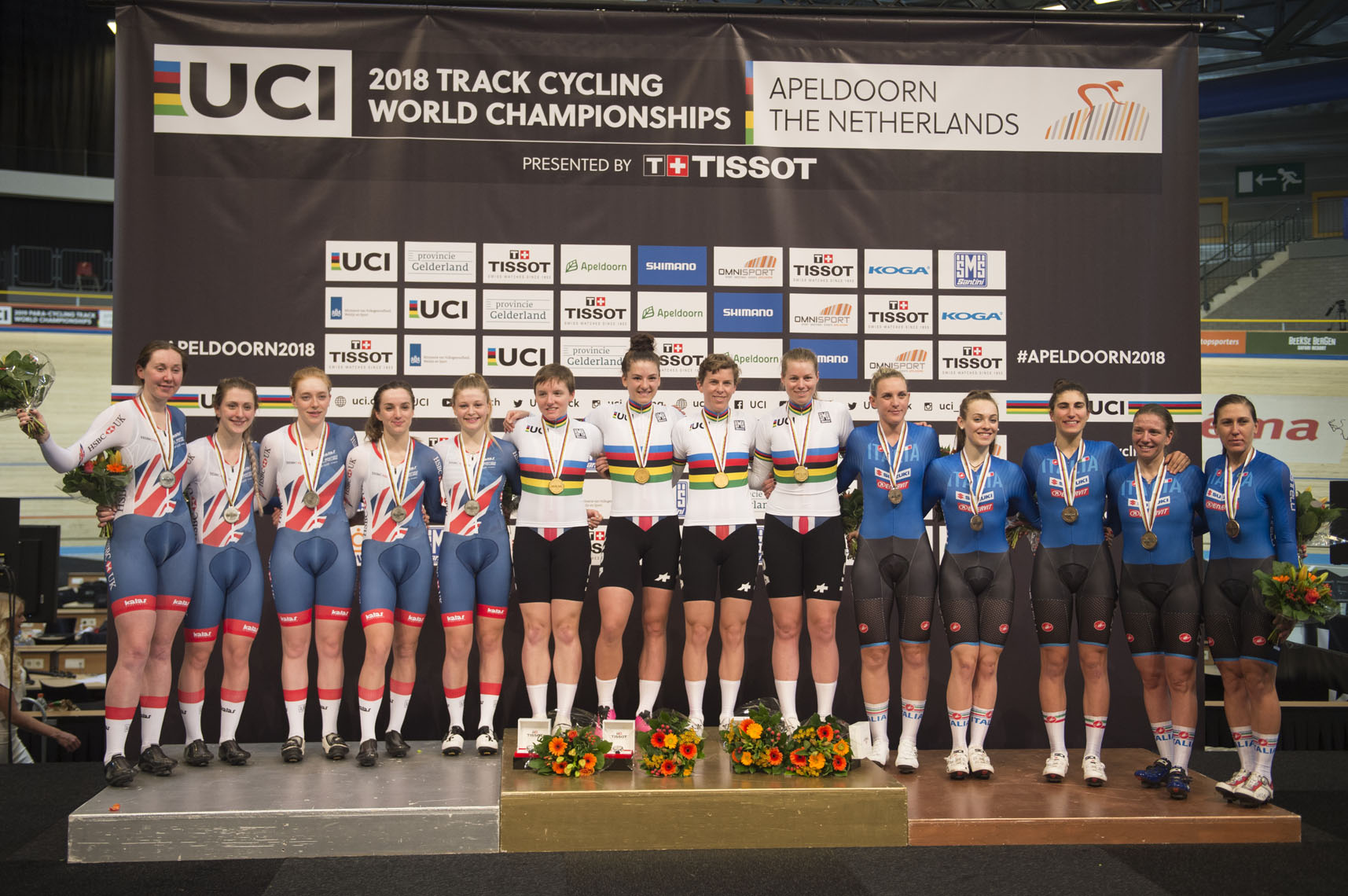 UCI Track Cycling World Championships, 2018